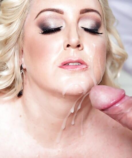 Facial BBW Sex Pics