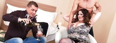 BBW Threesome Sex Pics