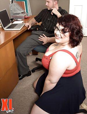 BBW Secretary Sex Pics