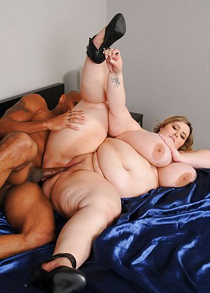 BBW Interracial Sex Pics